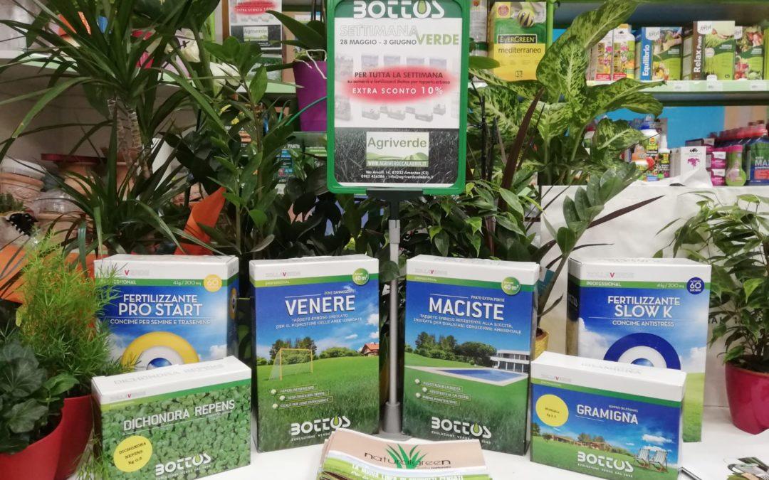 Prato perfetto: tutti i fertilizzanti e le sementi Bottos